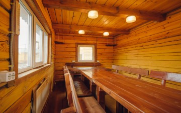 Гостевые домики вместимостью до 20 человек