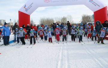 В Красноярске прошел большой праздник «День снега»