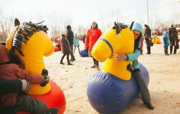 Масленичные гуляния 9-10 марта на острове Татышев прошли с размахом!